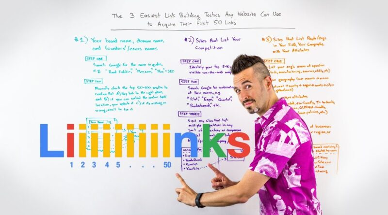 The 3 Easiest Link Building Tactics Any Website Can Use to Acquire Their First 50 Links – WBF