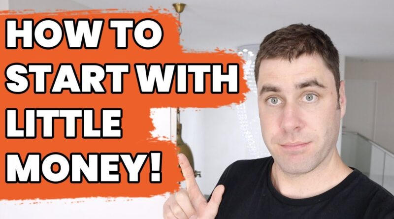 How To Start An Online Business With Little Money! (Beginner Friendly)