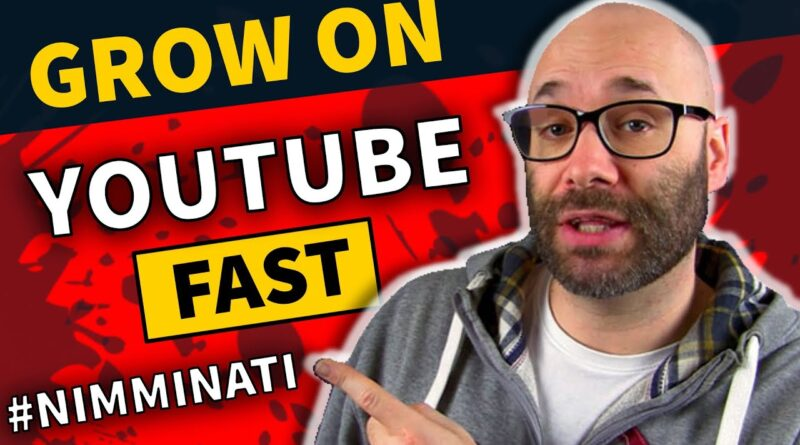 How to Grow on YouTube in 2019 w. Nick Nimmin
