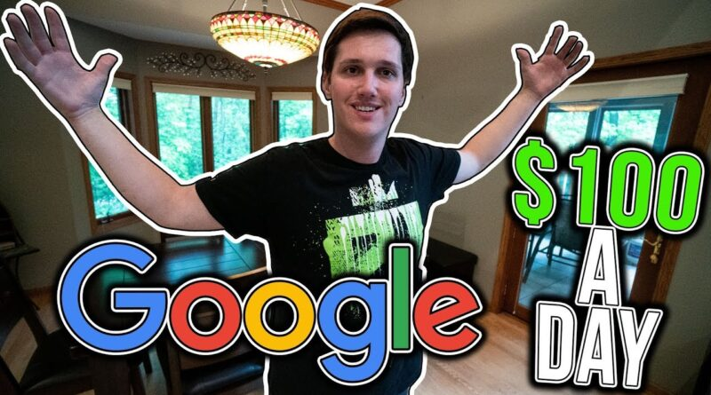 Strategy To Earn $100 A Day From GOOGLE. (revealed)
