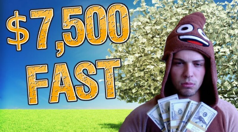 How I Made $7,500 Online At 17 Fast & Easy!