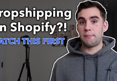 Dropshipping On Shopify?!   WATCH THIS FIRST